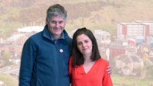 Our elected joint national spokespeople, Colin Fox and Natalie Reid