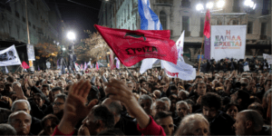 Syriza-demo