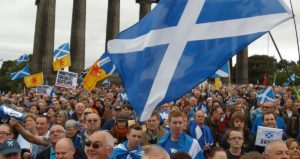 2013 March and Rally for Scottish Independence (Photo: Campsie SSP)